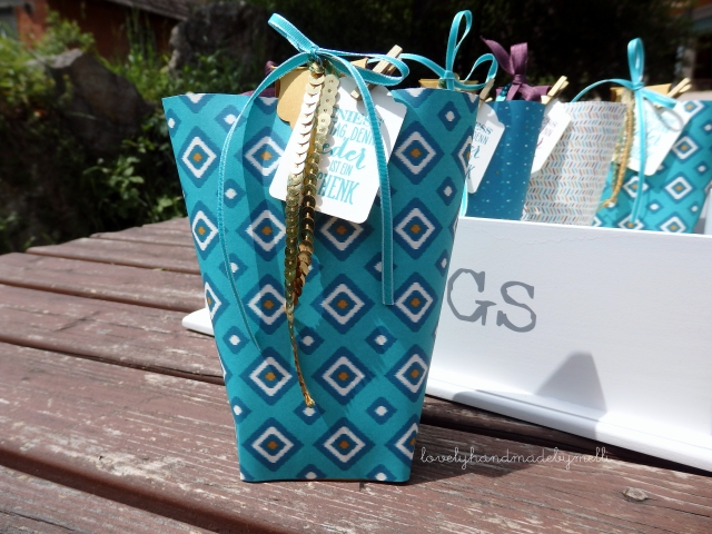 Box in a Bag, Teamgeschenke