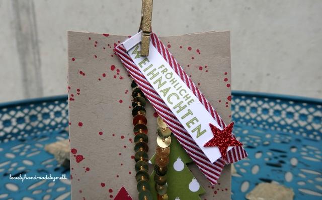 weihnachtliche Geschenktüte