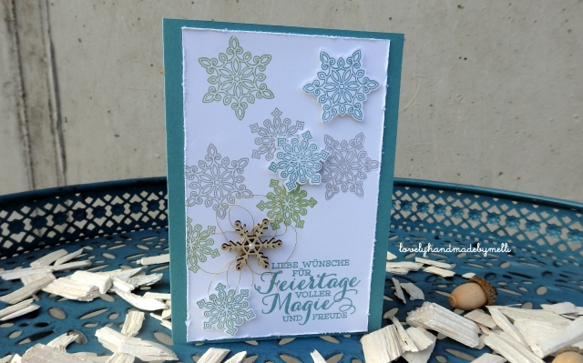 Weihnachtskarte Stampin´up!